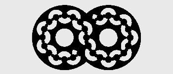Crop circles - Chirton Button 2010 - Diagram