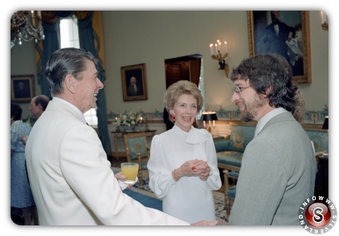 Steven Spielberg e Ronald Reagan