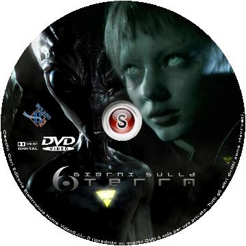 6 giorni sulla Terra Cover DVD