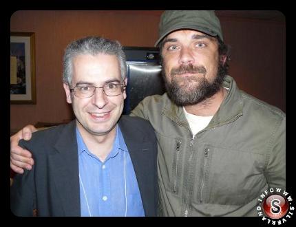 Nick Pope e Robbie Williams, a Laughlin in Nevada, presso il Congress UFO e Film Festival del 2008