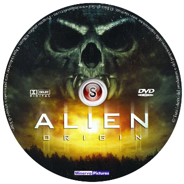 Alien origin Cover DVD