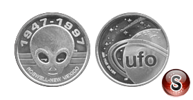 Coin Roswell New Mexico  1997