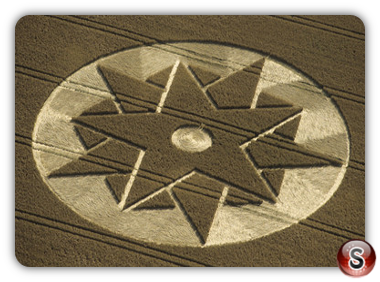 Crop circles - Beckhampton, Wiltshire 1998