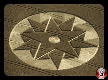 Crop circles - Beckhampton Wiltshire 1998