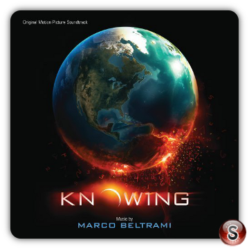Knowing Soundtrack Cover CD