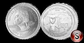 Coin Alien Heartland USA Quarters