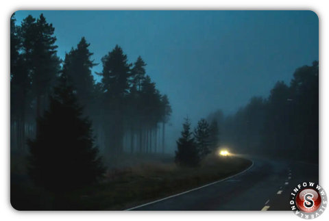 Foto notturna Finlandia