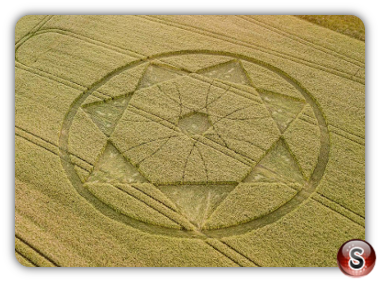 Crop circles Devil's Den - Wiltshire 2018