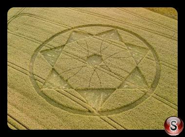 Crop circles - Devil's Den Wiltshire 2018