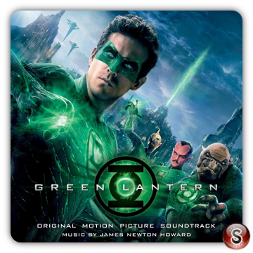 Green lantern Soundtracks Cover CD