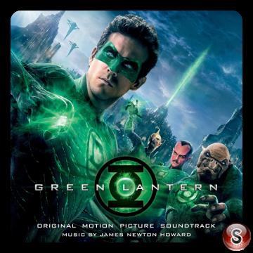 Green lantern Soundtrack Cover CD