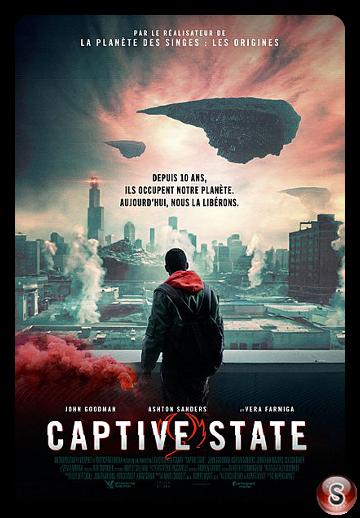 Captive state - Locandina - Poster
