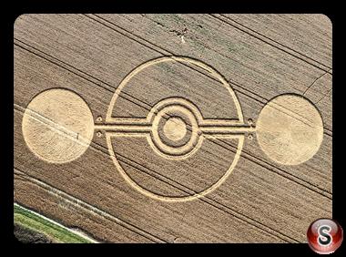 Crop circles - Yatesbury Wiltshire UK 2011