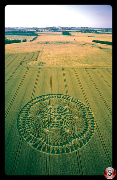 Crop circles - Windmill Hill Wiltshire 2002