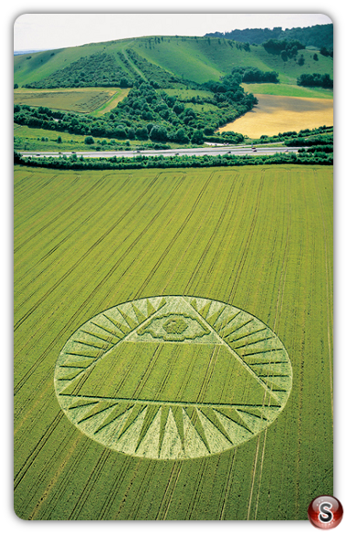 Crop circles - Highclere, Hampshire 2002