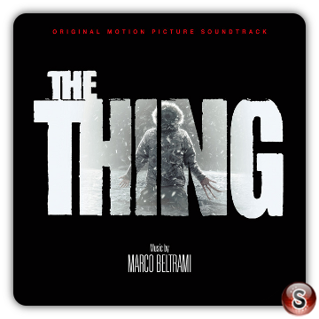 The thing Prequel Soundtracks Cover CD