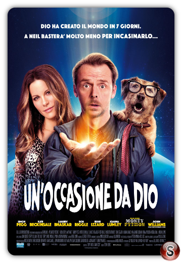 Un'occasione da Dio- Absolutely Anything - Locandina - Poster