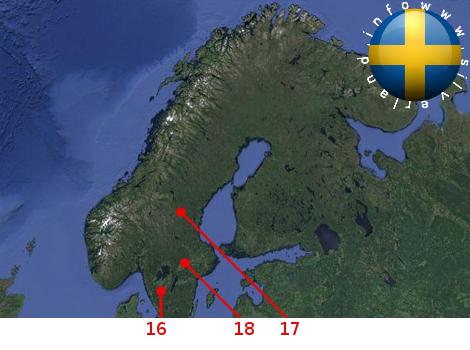 Basi aliene in Svezia