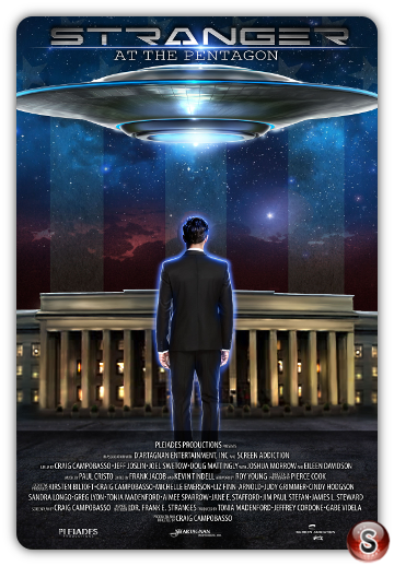 Stranger at the Pentagon - Locandina - Poster