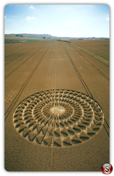 Crop circles - Windmill Hill, Wiltshire 2002
