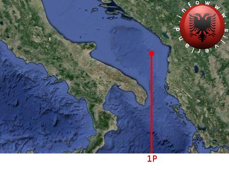 Base aliena nel mare dell' Albania