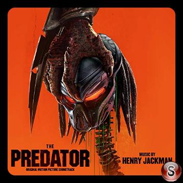 The predator Soundtrack Cover CD