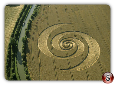 Crop circles - Honey Street, Wiltshire 2002