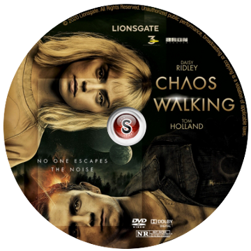 Chaos Walking Cover DVD