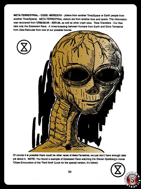 Meta - terrestrial ( false colour ) - Blue Planet Project - Rielaborazione grafica Silverland