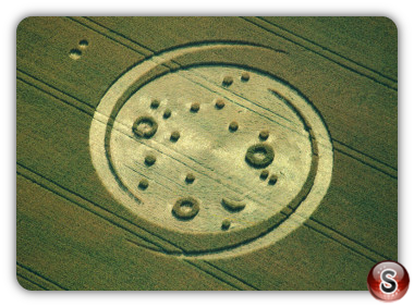 Crop circles - West Stowell Wiltshire 1994