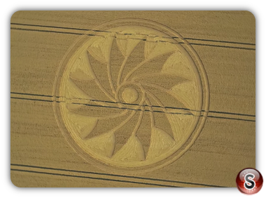 Crop circles Clifford's Hill - Wiltshire 2018