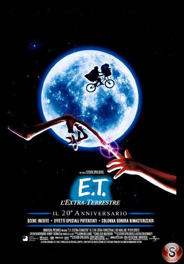 E.T. - L'Extra-Terrestre - E.T. The Extra-Terrestrial - Locandina  - Poster