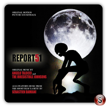 Report 51 Soundtrack Cover CD