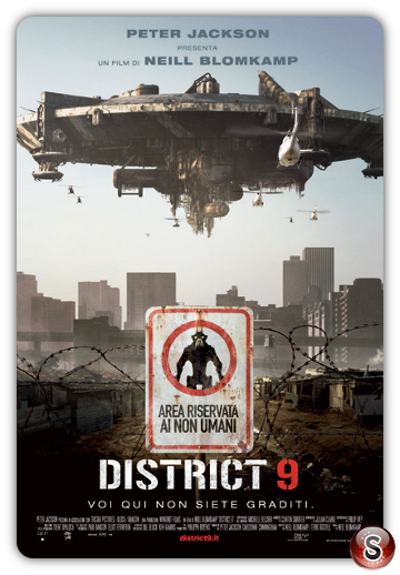 District 9 - Locandina - Poster