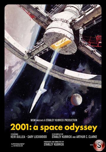 2001: odissea nello spazio - Locandina - Poster