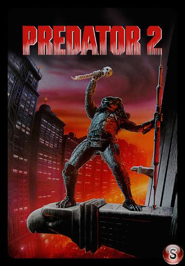 Predator 2 - Locandina - Poster