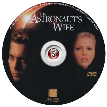 The Astronaut's Wife cover DVD