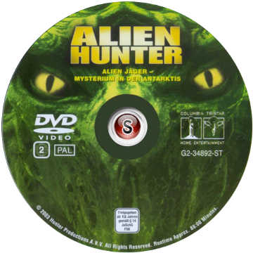 Alien hunter - Cacciatore di alieni Cover DVD