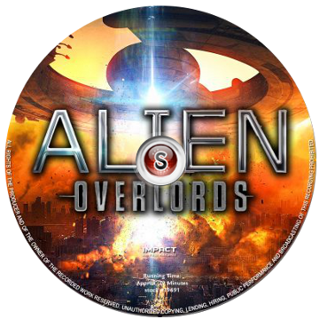 Alien overlords Cover DVD