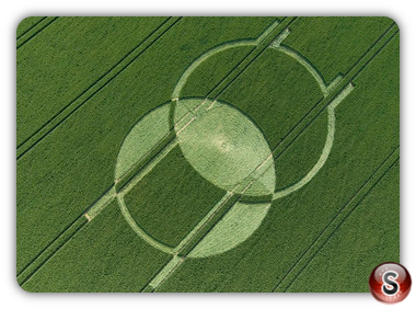 Crop circles - Horton, Wiltshire 2008