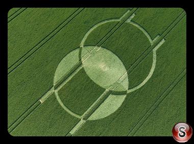 Crop circles - Horton Wiltshire 2008