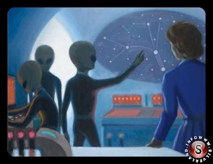 La mappa mostrata dagli alieni a Betty