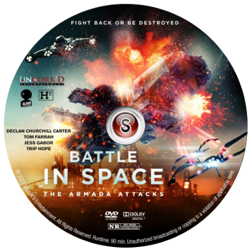 Battle in Space: The Armada Attacks Cover DVD