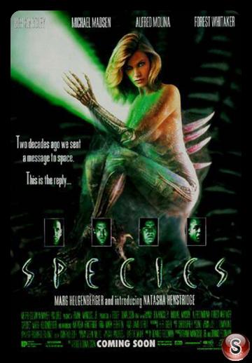 Species - Specie mortale - Locandina - Poster
