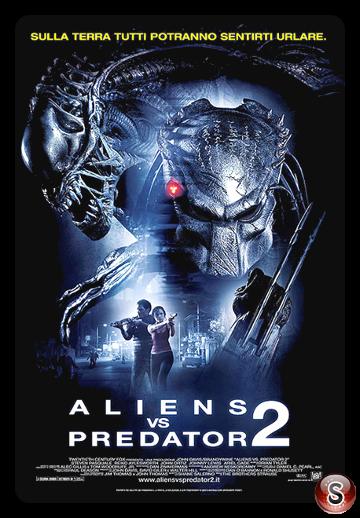 Aliens Vs. Predator 2 - Locandina - Poster