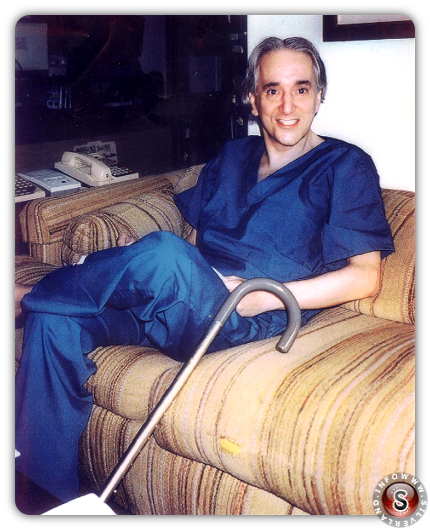Dr. Michael Wolf - 마이클 울프박사의 생전모습.