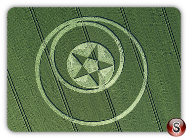 Crop circles Broad Hinton - Wiltshire 2018