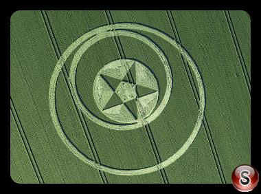 Crop circles - Broad Hinton Wiltshire 2018