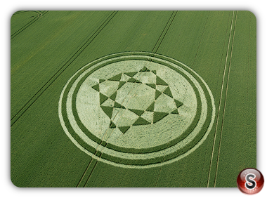 Crop circles Danebury Hill - Hampshire 2019