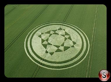 Crop circles - Danebury Hill Hampshire 2019